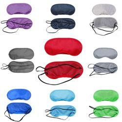 Polyester Sommeil Masque Pour Les Yeux Ombre Sommeil Masque Couleur Masque Bandage Sur Les Yeux Pour Dormir Polyester Sommeil Shade Lunettes