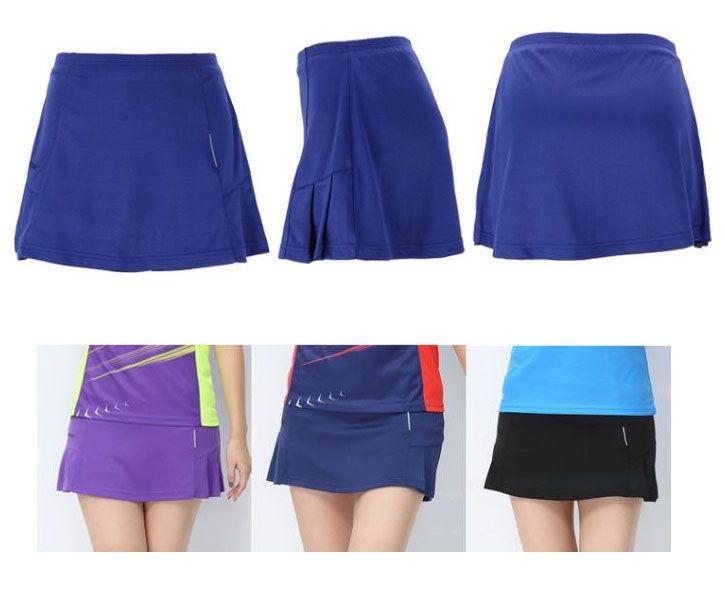 Frauen tennis skorts, Tops Badminton rock, sport rock, badminton Kleidung, tischtennis Shorts, tennis Skort, ping-pong rock sport