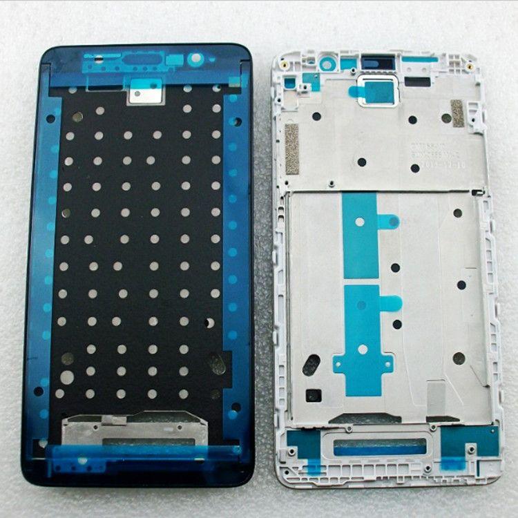 Nouvelle Redmi Note 3 Avant LCD Logement Moyen Façade Cadre lunette Pour Xiaomi Redmi Note 3 Pro Pièces De Rechange Avec autocollants