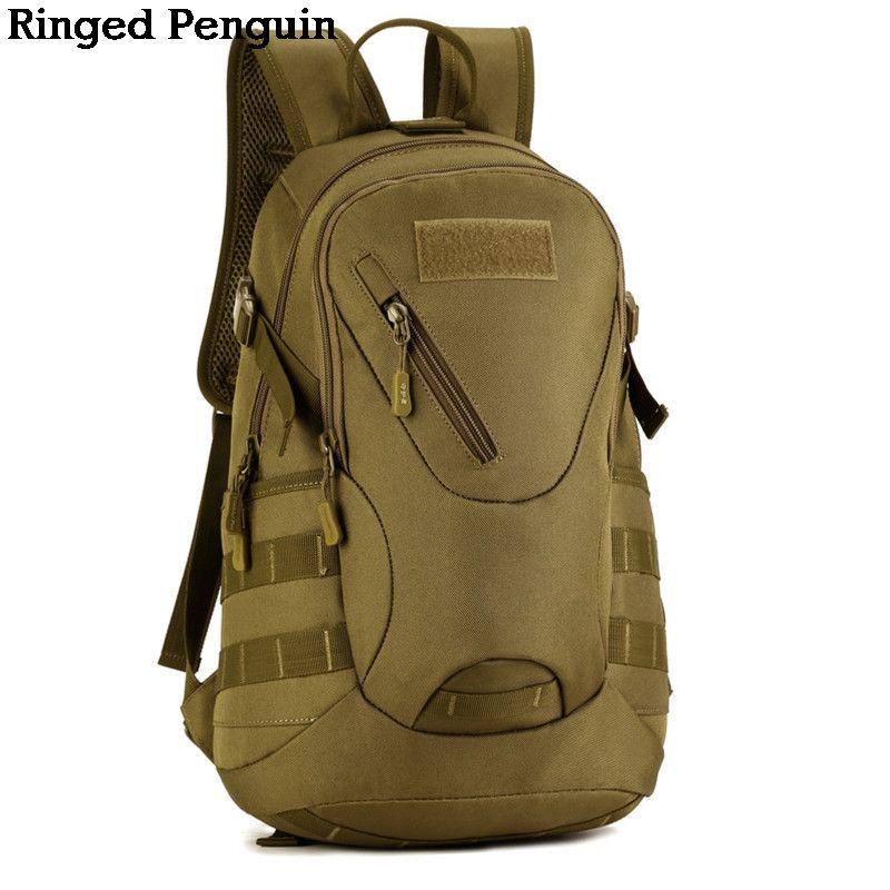 Водонепроницаемый 3D Военная Униформа тактика Рюкзак Сумка 20L для похода Trek камуфляжный рюкзак путешествия