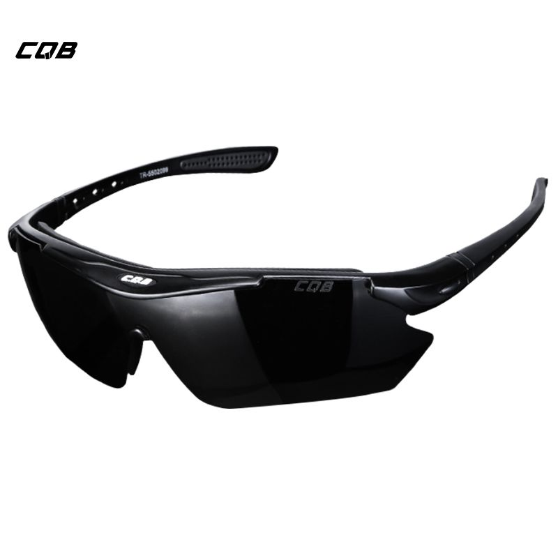 CQB Outdoor Climbing Polarized Sunglasses Tactical Men Eyewear HD for Hiking Fishing Cycling Glasses Shooting Glasses