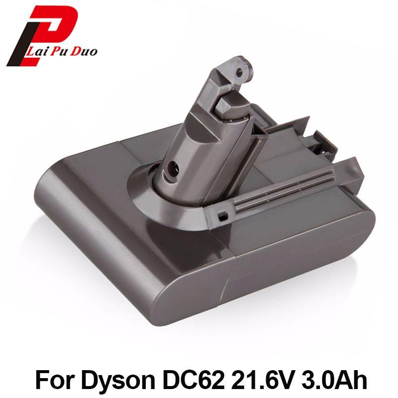 Rechargeable Batterie Pour Dyson Aspirateur DC58 DC59 DC61 DC62 Animal V6 21.6 v 3000 mah Li-ion Batteria