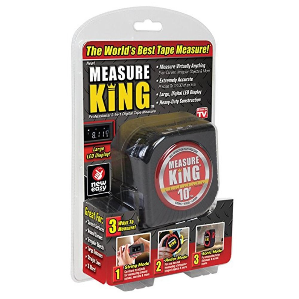 Measuring <font><b>Tape</b></font> Black 3 in 1 Measure <font><b>Tape</b></font> King Roll Cord Laser Mode Drop Shipping Wholesale