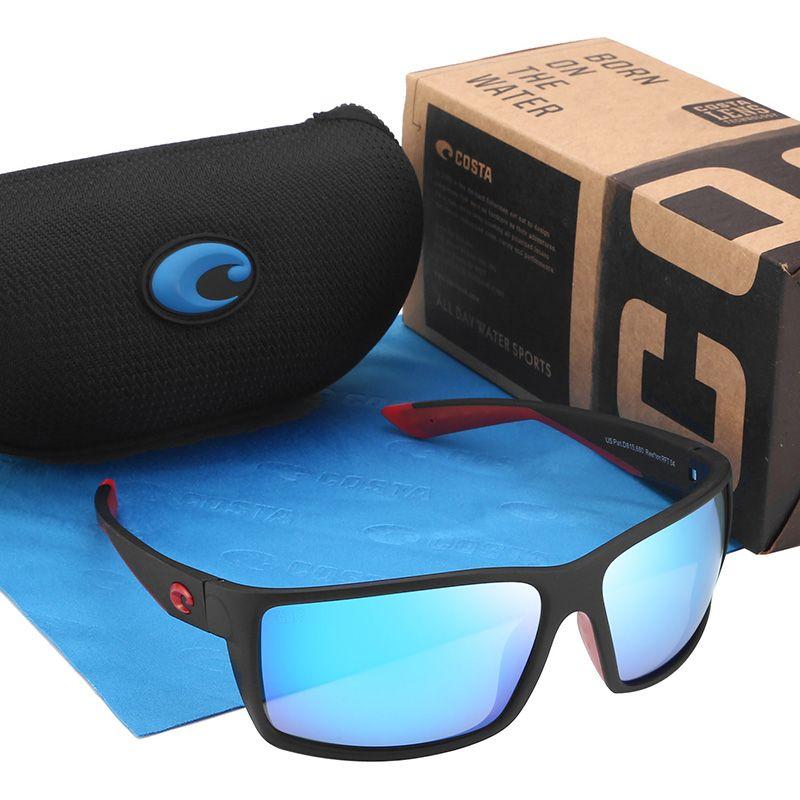 Classic 580P Brand Designer Men Sunglasses Driving Square Sunglasses For Men Polarized Eyewear UV400 Male Goggle Gafas Male