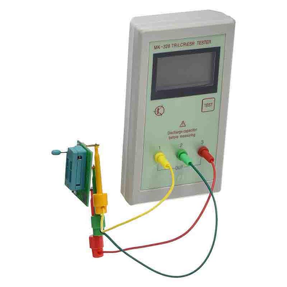 THGS MK-328 TR\LCR\ESR Transistor LCR ESR Tester Cemiconductor Device Analyzer