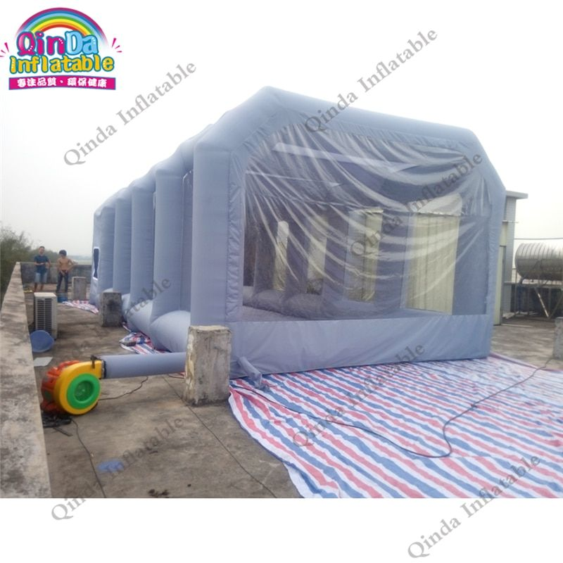 Spray Paint Booth Car Painting Oven Spray Pain Inflatable Paint Booth Car Painting Room with Free Air Blower Spary Tent