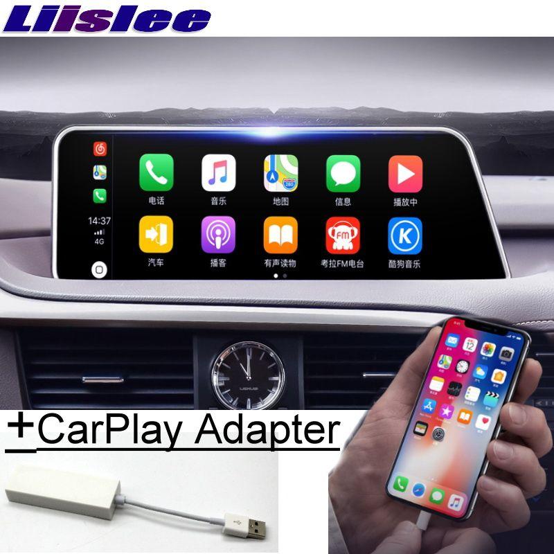 Für Lexus RX AL20 RX 200 T 450 h 2015 ~ 2019 Liislee Auto Multimedia Player NAVI 12,3 Bildschirm Radio carPlay Adapter Karte GPS Navigation