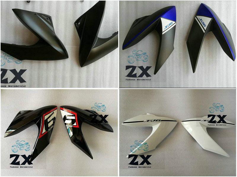 Verkleidungen Injection Für YAMAHA XJ6 Yamaha XJ6 2009-2012 09 10 11 12 leben und rechts ZXMT matte black karosserie Verkleidung