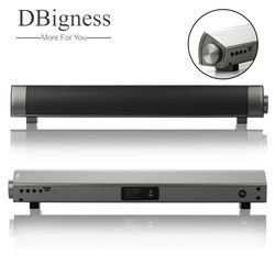 Dbigness Mini Soundbar Bluetooth Speaker Slim Magnetic Stereo Sound Subwoofer Speaker HIFI Speaker for Computer Tablet TV