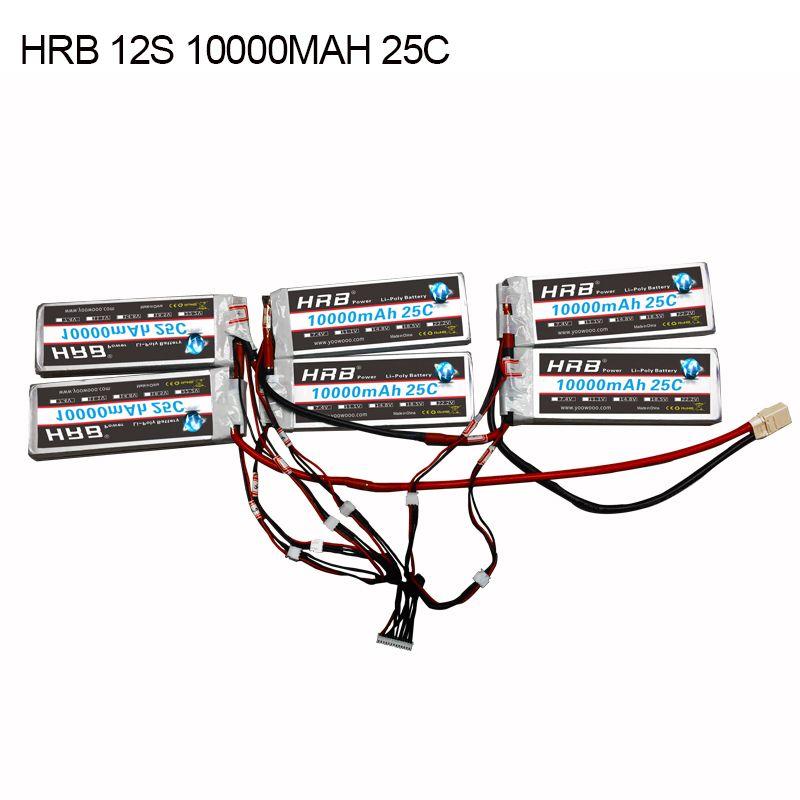 HRB 12 s 10000 mah 25C hohe spec Lithium-Polymer batterie mit XT90 XT90S montage für elektrische skateboards