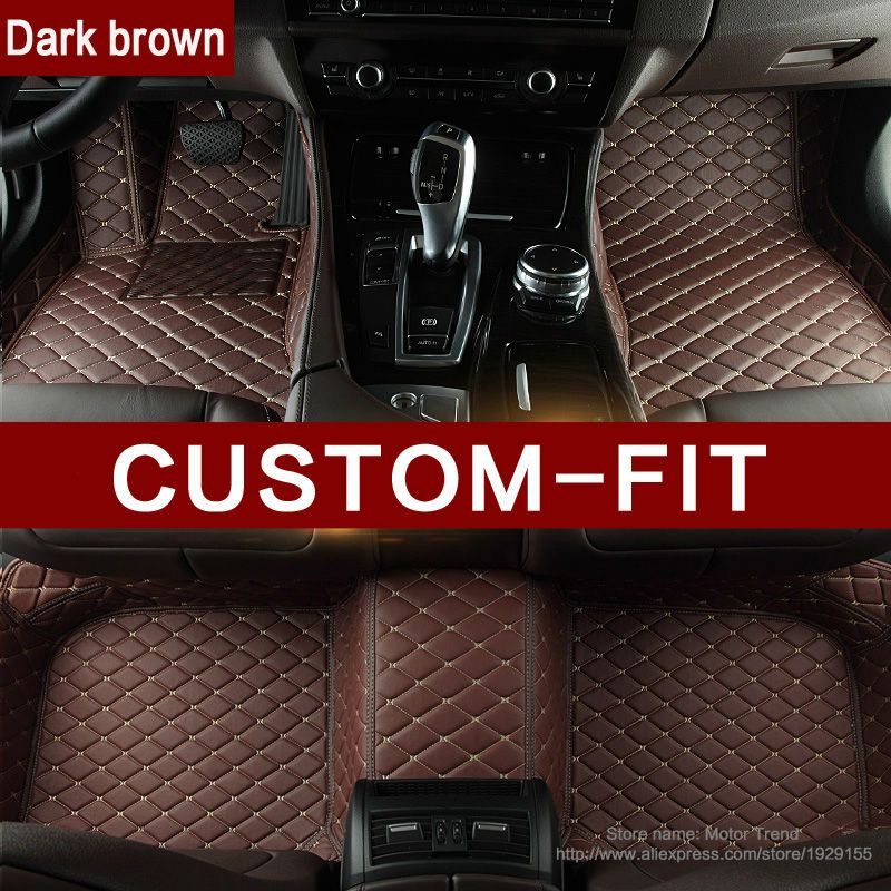 Custom fit car floor mats for BMW 3/4/5/6/7 Series M3 X1 X3 X4 X5 X6 Z4 3D car-styling all weather carpet floor liner