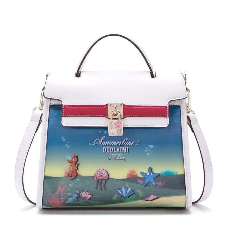 2018 hot new Europe style women clutch high quality women casual Fashion casual should bag women bag free shipping