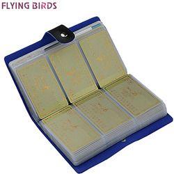 Летящие птицы! Держатель для карт бренд высокое качество женские и мужские сумки карты имя id Бизнес кожа 156 Банк Кредит Card Case ls8916fb
