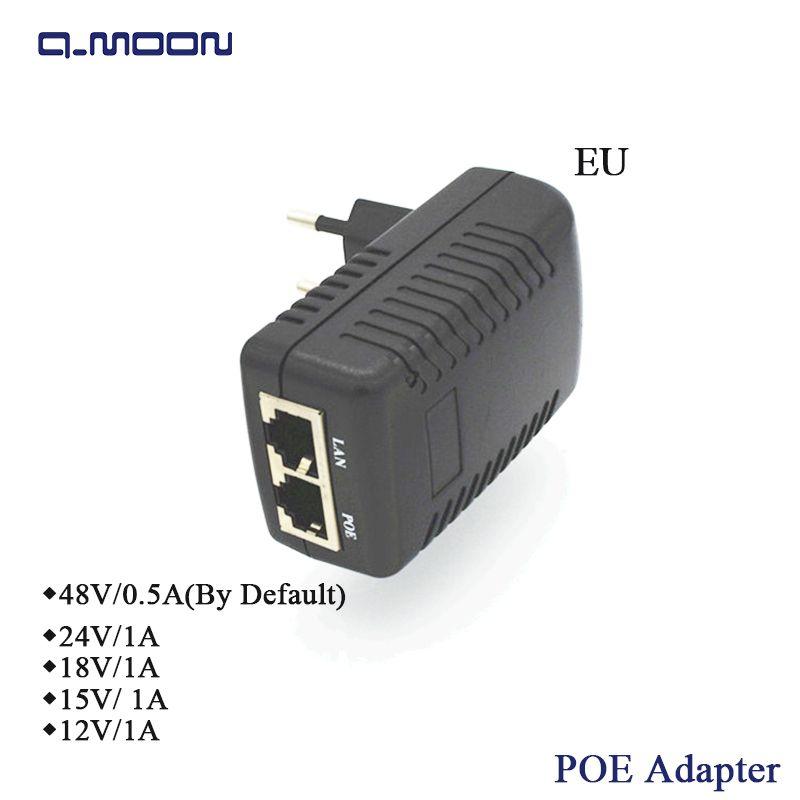 GENGMING 48 V 0.5A 10/100 Mbps POE Injecteur Rj45 Internet Caméra Ethernet Puissance Injecteur POE Commutateur Ethernet Puissance adaptateur