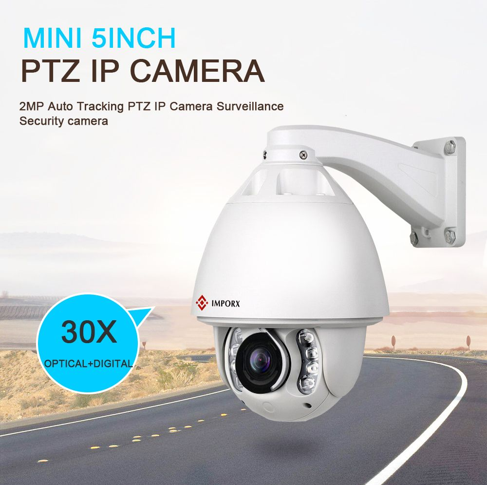 IMPORX Wifi CCTV Kamera 30X3 megapixel Audio Outdoor Ip-kamera HD Nacht Sicherheit Kamera IR 150 M Auto tracking Mit 360 High Speed Dome