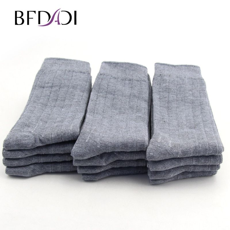 Big size 42--48 New Bamboo Fiber men sock high quality business sock casual socks 12 pairs / lot 3 colors free shipping 682