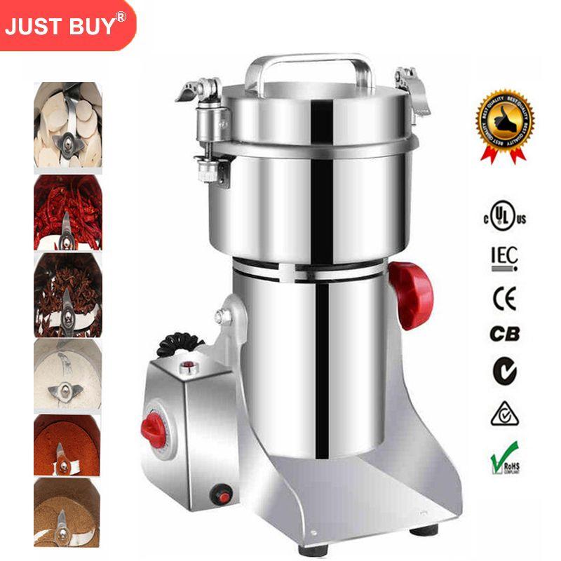 Elektrische Kaffeemühle Körner, Gewürze, Hebals Getreide, Trockenen Fleischwolf, Mühle Schleifen, gristmill medizin mehl pulver brecher