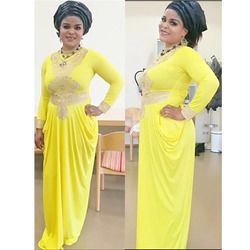 fashion African Big Elastic Party Embroidery Lace Sexy Dress For Women Fashion Design Lady