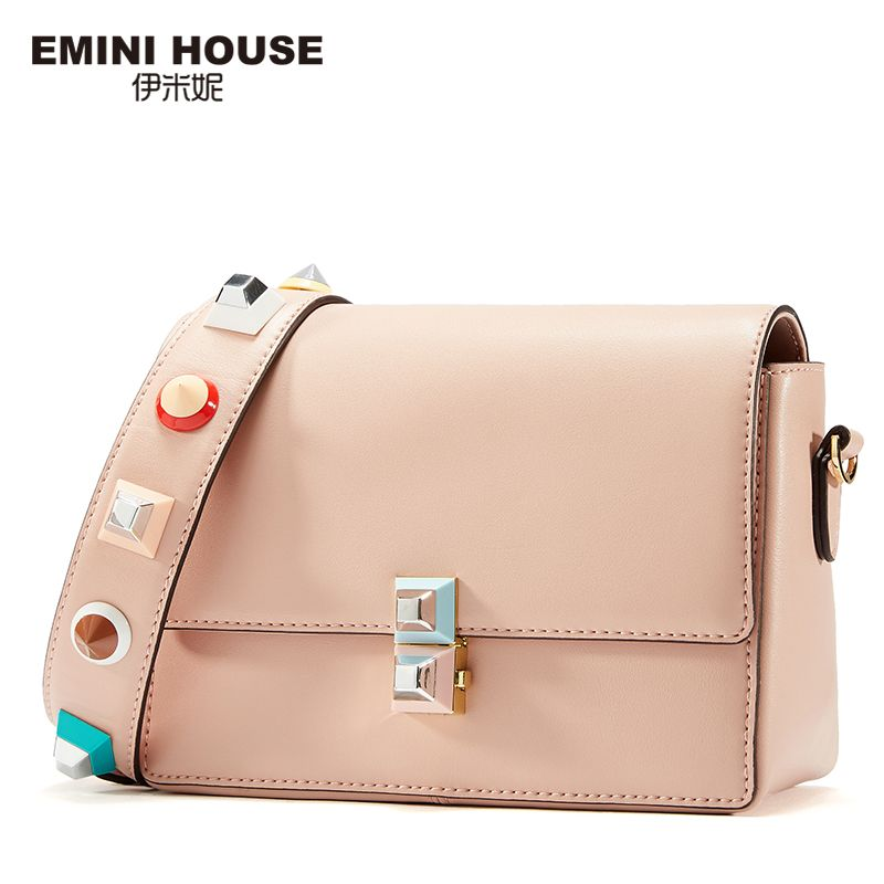 EMINI HOUSE Acrylic Crossbody Bag Women Messenger Bags Luxury Shoulder Bag for Women Lady Purse with Acrylic Shoulder Strap