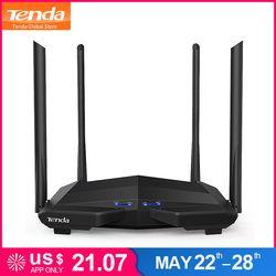 Tenda новый AC6 2,4 г/5,0 ГГц умный двухдиапазонный AC1200 Беспроводной Wi-Fi маршрутизатор Wi-Fi репитер, приложение дистанционное управление, английски...