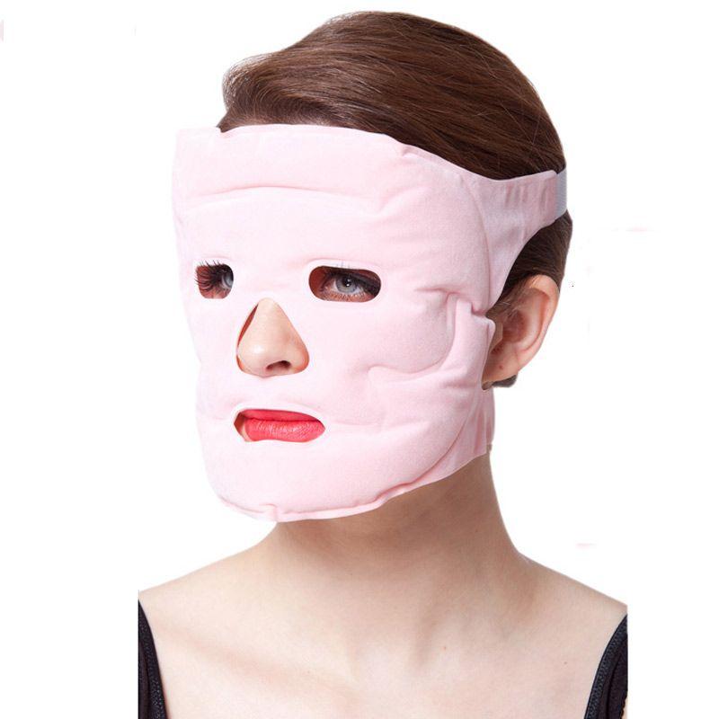 Masque Facial soins du visage maquillage masques Minceur Gel aimant mince Magnétite Visage enlever la poche Santé Magnétique Acupoint dropshipping