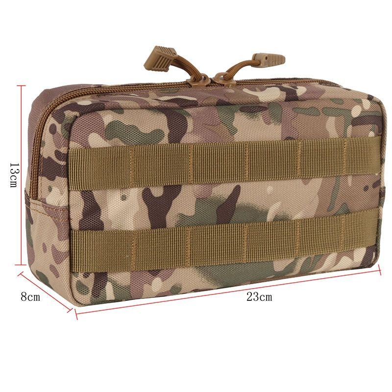 Outdoor 600D Traveling Gear Molle Pouch Military Tool Drop Bag Tactical Airsoft Vest Sundries Camera Magazine Storage Bag hyzf