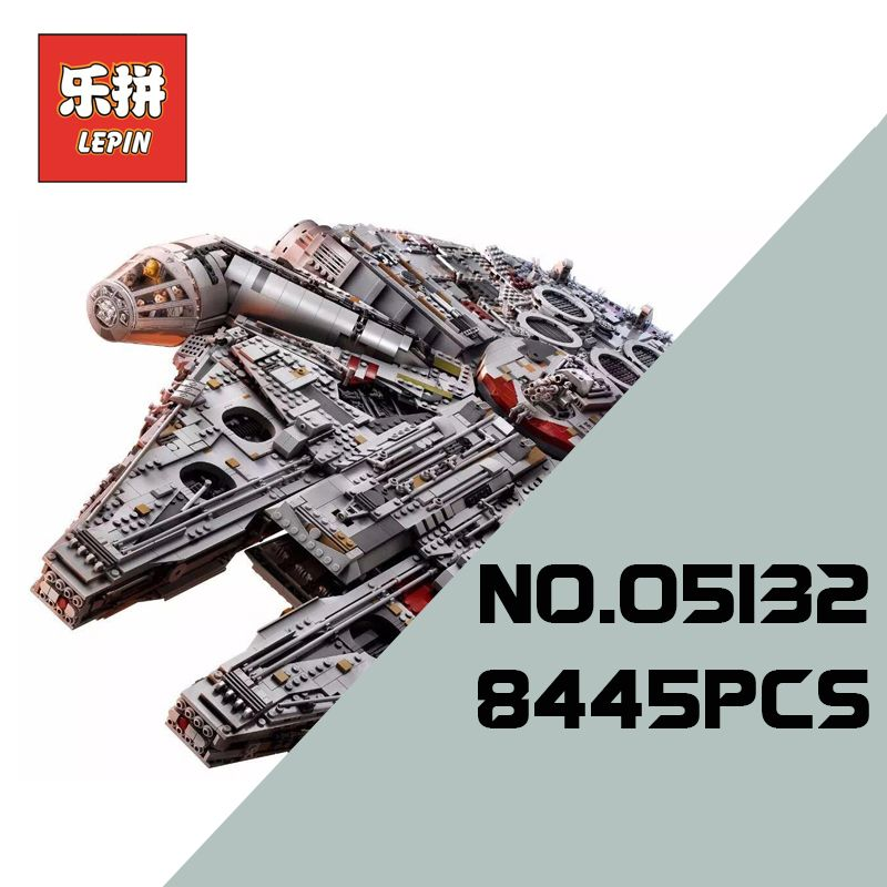 lepin 05132 Ultimate Collector's Star Model Destroyer Building Blocks Bricks Stars Series War 75192 Children Toy Christmas gift