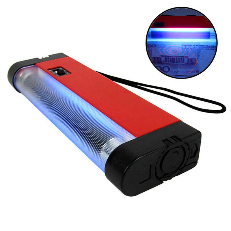 Super bright Handheld UV Lamp Portable powerful led flashlight Handheld For Skin Care Diagnosis Light Flashlight #3O4