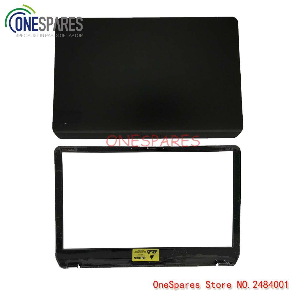 Nouveau LCD d'origine pour ordinateur portable à partir de l'écran arrière et couvercle de la lunette pour HP pavillon Envy M6 M6-1000 garniture noire AP0R1000140 686895-001