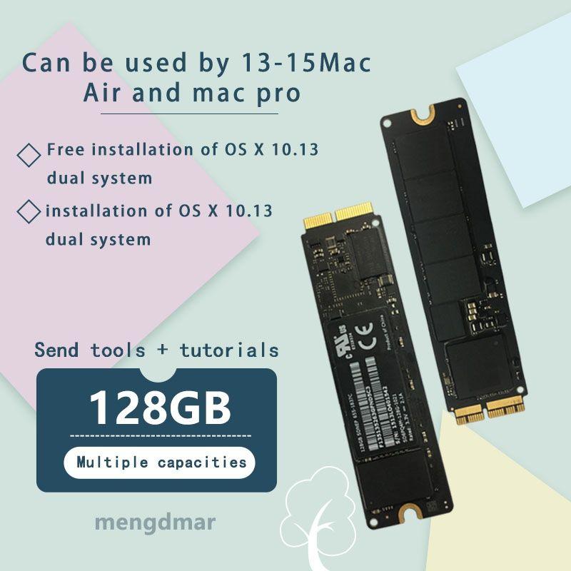 D'origine 128 GO SSD Pour Macbook Air 2013 2014 2015 A1465 A1466 imac PRO 2013 2014 2015 a1425 A1502 A1398mini DISQUE à L'ÉTAT SOLIDE