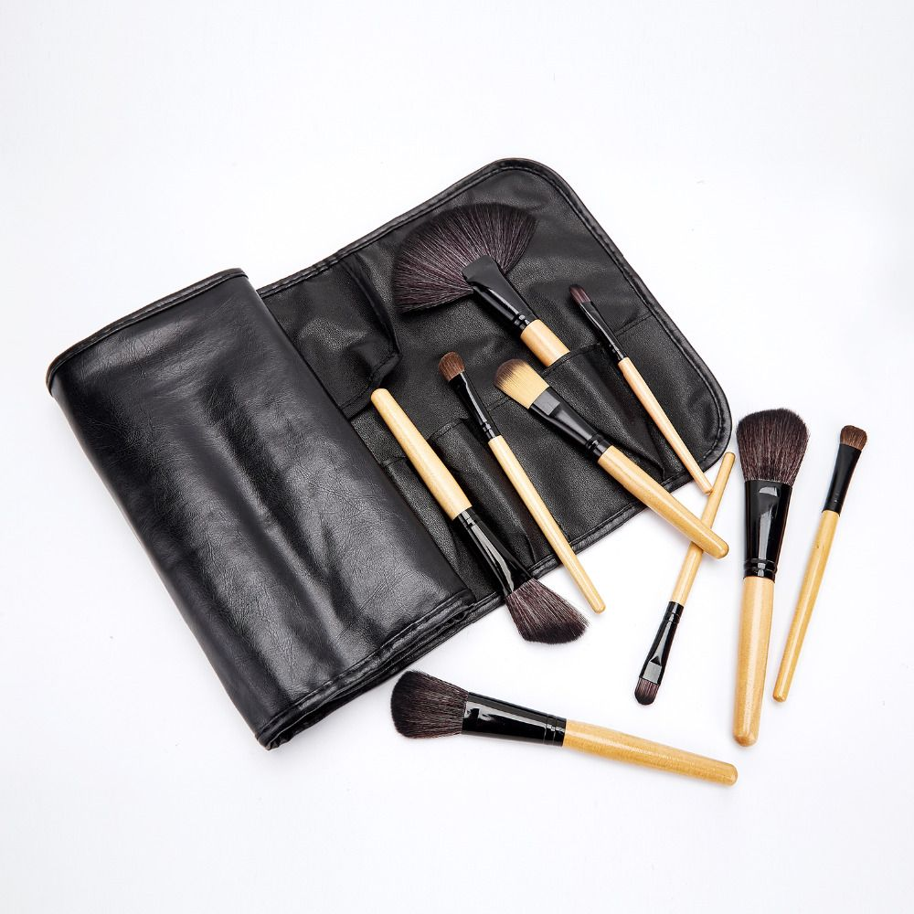 S'agapo FOR BEAUTY Stock Clearance !!! 24Pcs Pro Makeup Brushes Professional Cosmetic Make Up Brush Set The Best Quality!