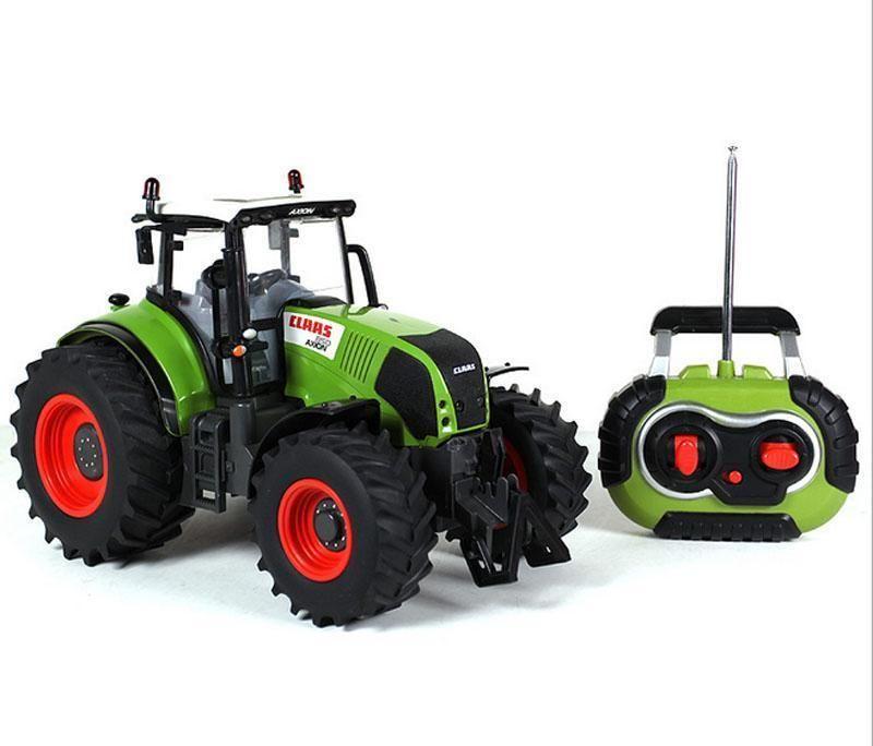 Vente chaude Voiture Telecommande Carrinho De Controle Remoto 1:16 Surdimensionné Radio Télécommande Voiture Agriculteur Tracteur Enfants Jouet
