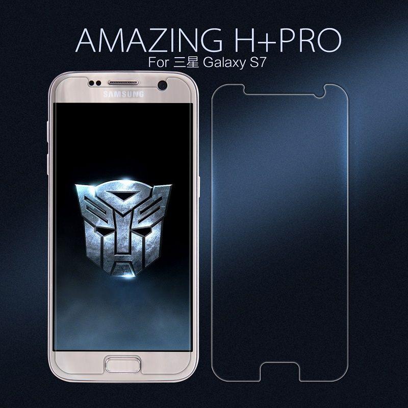 NILLKIN pour Samsung Galaxy S7 protecteur d'écran pour Samsung S7 film de verre H + Pro Nano verre pour Samsung G9300 film de protection