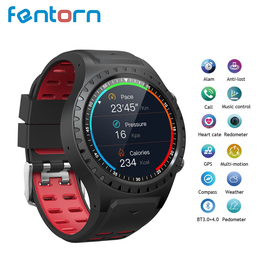 Fentorn M1 Smart Watch IP67 Waterproof Support Micro SIM card Bluetooth Dial Call Heart Rate Monitor GPS Watch sports Smartwatch