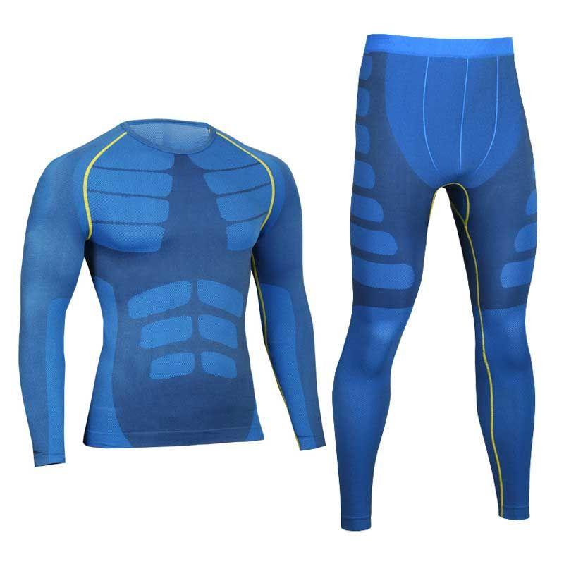 Для мужчин Pro сжатия Кальсоны для женщин Фитнес быстросохнущая gymming мужской Рубашки для мальчиков + Колготки для новорождённых Брюки для дев...