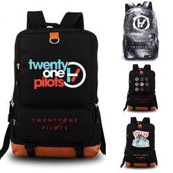 Dua puluh Satu Pilot sekolah tas Rucksack tas sekolah siswa Travel ransel Reflektif Leisure Harian Notebook tas Penyimpanan