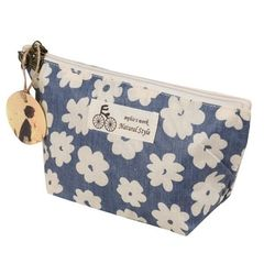 Xiniu cosmetic bag Women Cherry Blossoms Printing make up bag 22*8*13cm Maleta De Maquiagem Profissional organizer #0
