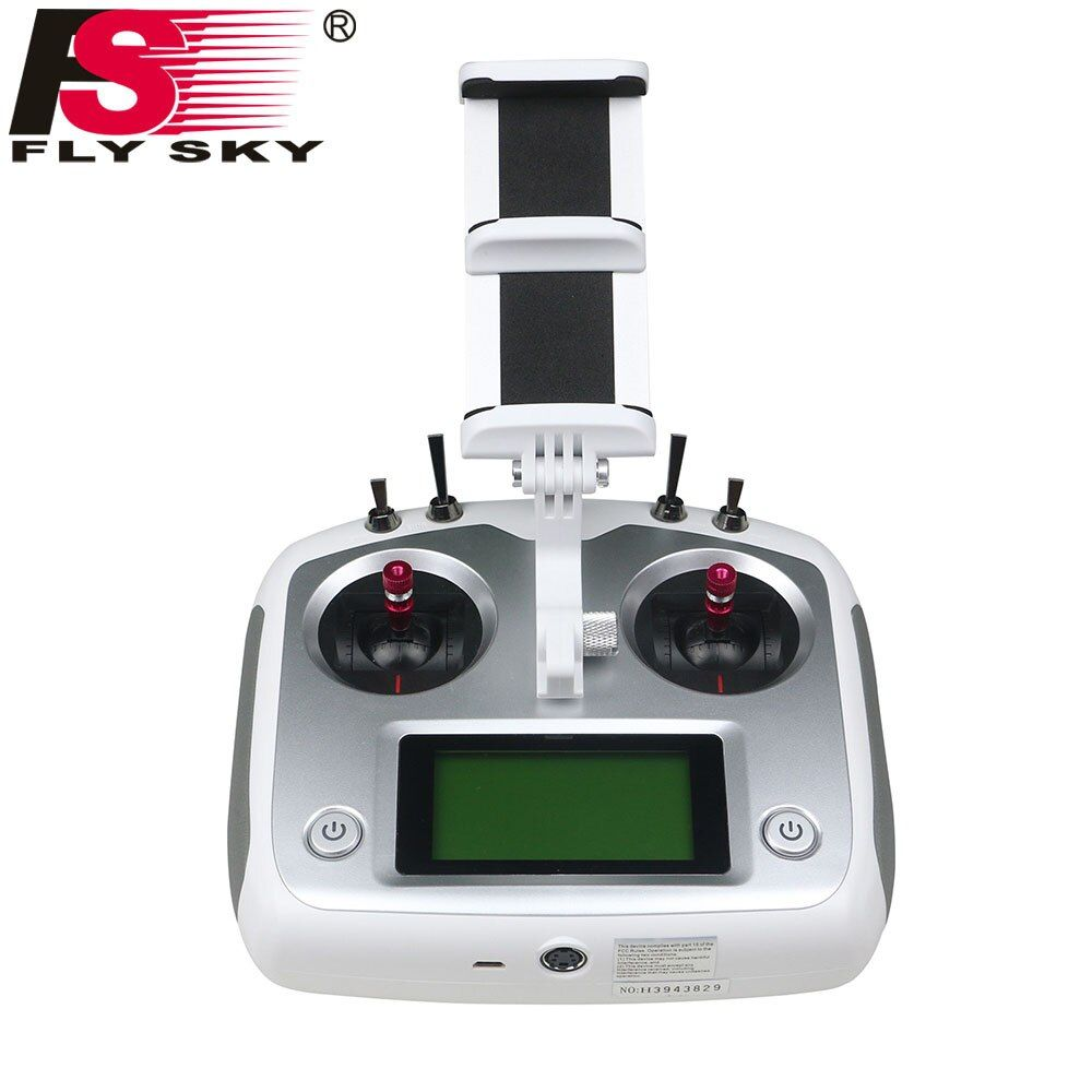 Fly Sky FS-I6S Remote Controller 2.4G 6ch Radio Transmitter + iA6b Receiver for RC Quadcopter Multirotor Drone with Holder