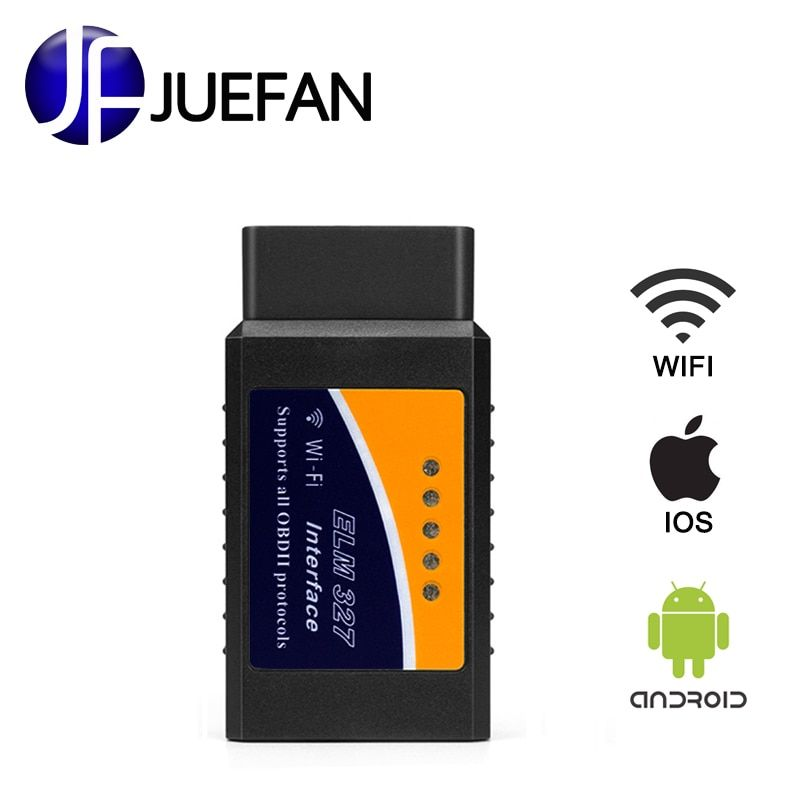 Meilleur ELM327 Wifi easydiag Auto OBD2 outil de Diagnostic ELM 327 WIFI OBDII ELM327 Scanner V 2.1 sans fil pour Android/IOS