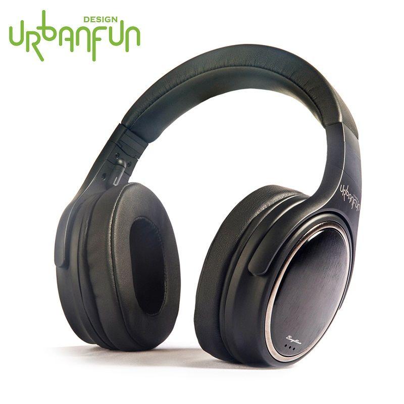 URBANFUN_Urbanfun Trandsound UN HiFi Casque 45mm Béryllium À Membrane Bandeau Stéréo Mi Casque Écouteurs De Haute Qualité