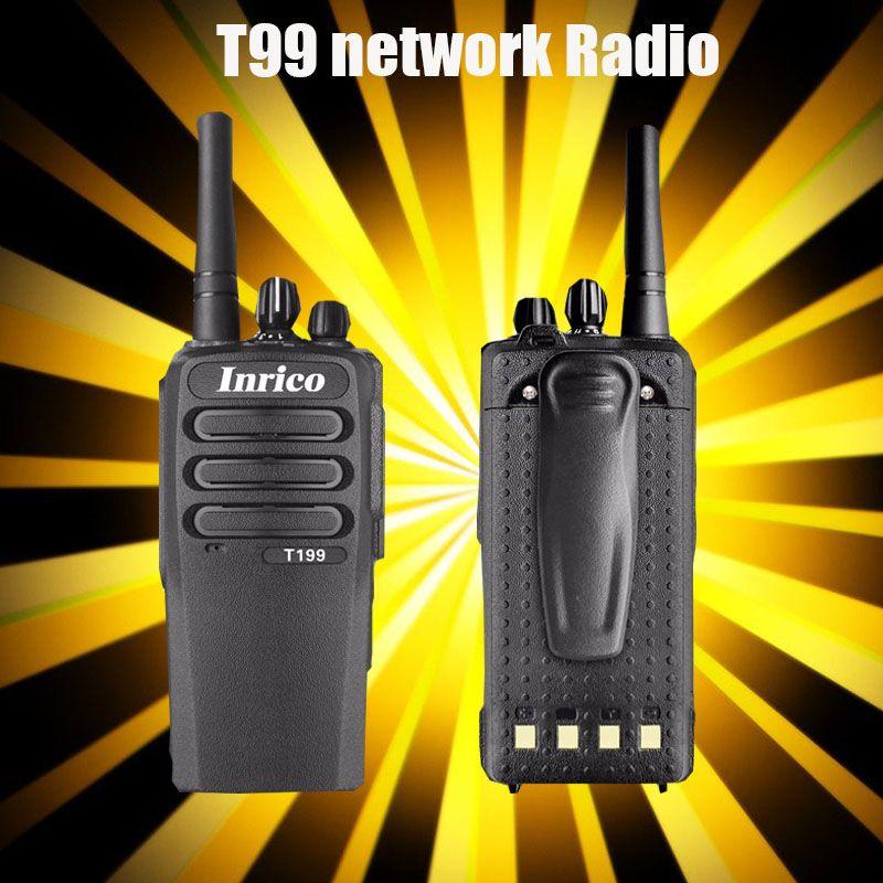 Carte Sim talkie-walkie réseau interphone wifi bluetooth talkie-walkie pratique T199 Radio bidirectionnelle carte SIM réseau Public radio