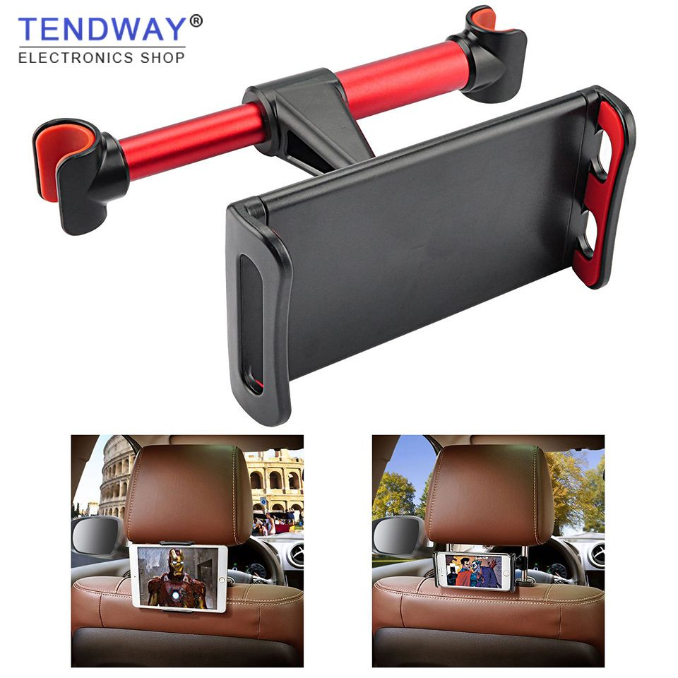 Car Tablet Holder Stand For Ipad 2/3/4 Air Pro 7-11' Phone Universal Stand Bracket Back Seat Car Mount Mount 360 Rotation