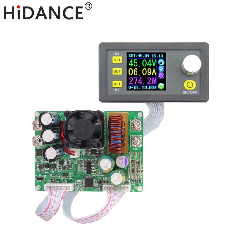 DPS5015 15A Konstante Spannung strom Step-down Programmierbare digitale Stromversorgung buck spannungswandler farbe LCD voltmeter