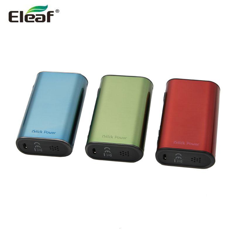 New Color Eleaf iPower iStick Power TC 80W Box Mod DBattery Vape Vaporizer E Cigarette