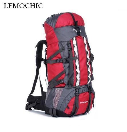 Высокое качество большой емкости 100L альпинизма спортивные сумки для путешествий Открытый спортивный Отдых Туризм Восхождение человек рюк...