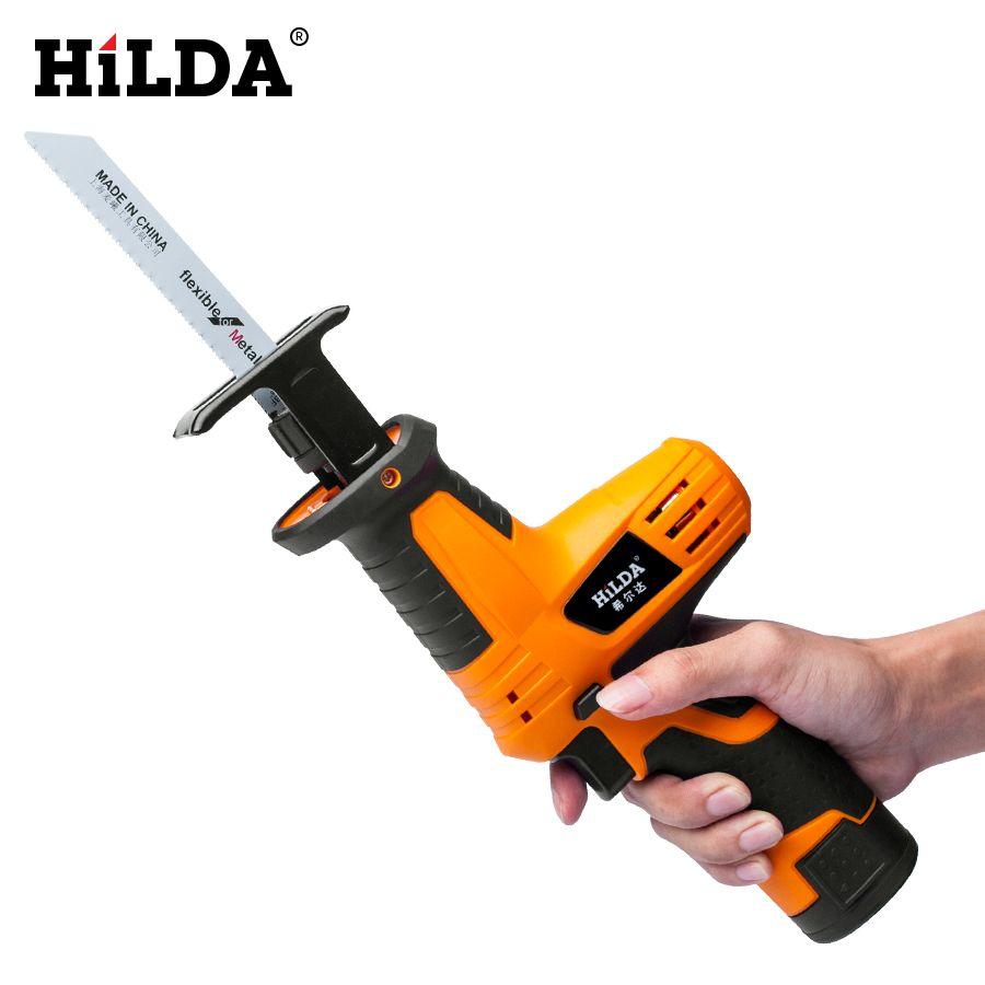 HILDA scie alternative Portable scie à bois puissante scie électrique bois/métal scies avec lame tranchante coupe-bois