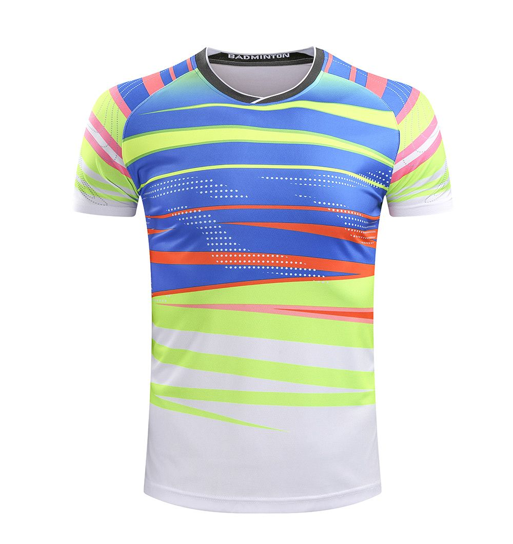 Freies Drucken Name CHINA Badminton shirt Männer/Frauen, Badminton t-shirt, sport tennis shirt 215AB