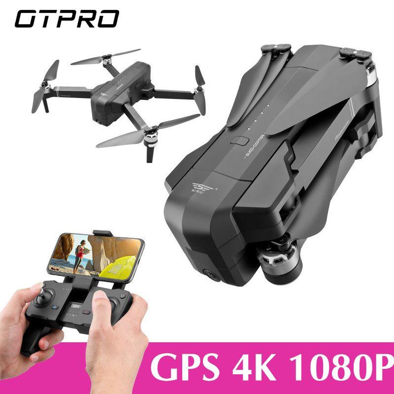 OTPRO mi Drone WIFI FPV Mit 4K 30fps 1080P Kamera 3-Achsen Gimbal GPS RC Racing Drone quadcopter RTF mit Trans mi tter Z5 F11 EDERS