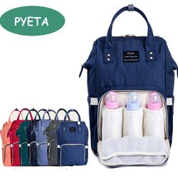 PYETA Fashion Mummy Maternity Nappy Bag Brand Large Capacity Baby Bag Travel Backpack Desinger Nursing Bag