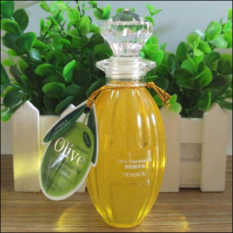 1 piece 100ML Pure Olive Oil Facial Moisturizing Body Essential Oil Hair Nourishing Massage Oil Anti-Aging Dryness M3003-1